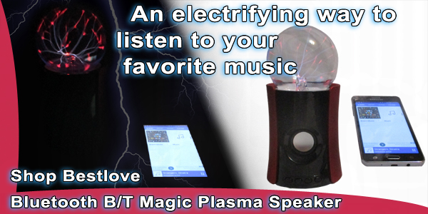 Shop Best Love  Bluetooth Plasma Speakers