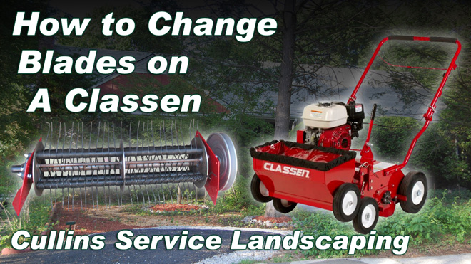 How to DIY Classen Change blades Spring Tines
