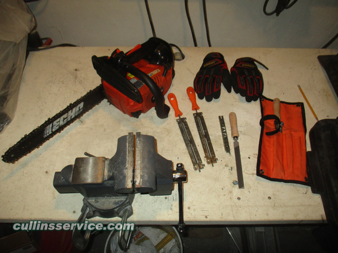 How to Sharpen a Chainsaw Remove Spark Plug Cap Cullins Service