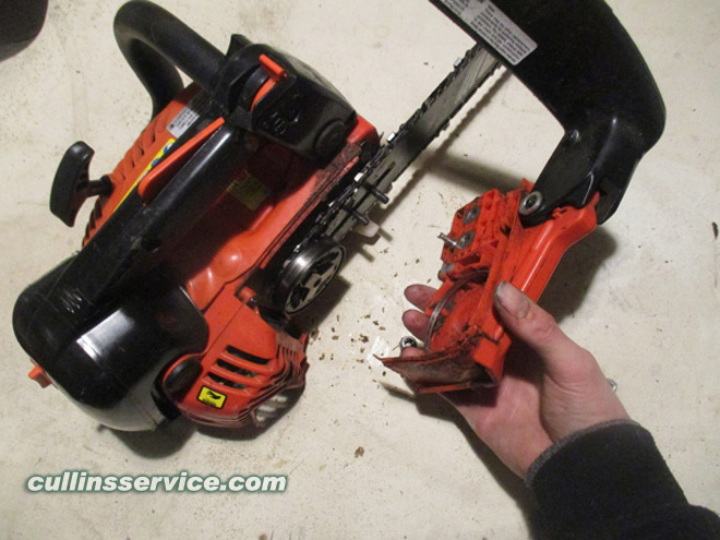 How to Sharpen a Chainsaw Remove the Clutch Cover Cullins Service