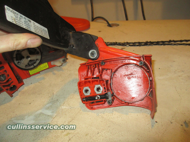 How to Sharpen a Chainsaw Remove Nuts Cullins Service