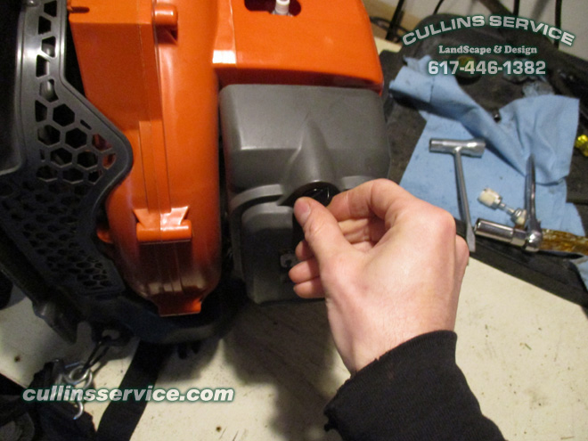 how to diy tune up backpack leaf blower 150bt husqvarna by cullins rh cullinsservice com husqvarna 150bt manual pdf Husqvarna 150BT Carburetor Diagram