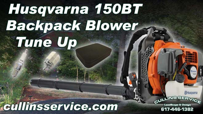How to DIY tune up Backpack Leaf Blower 150BT Husqvarn