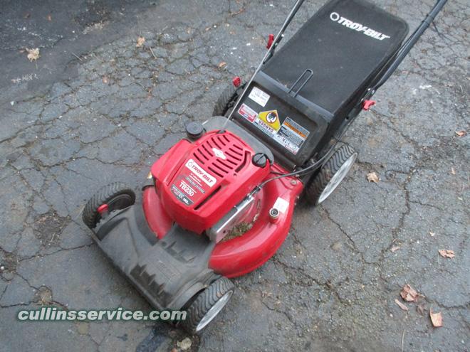 Winterize / Store Lawn Mower Remove Gas Cullins Service