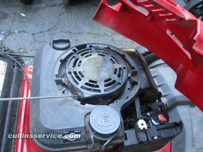 Winterize / Store Lawn Mower Remove Engine Cover Cullins Service