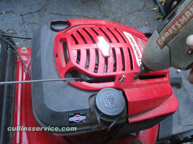 Winterize / Store Lawn Mower Remove Clean Lawn Mower Cullins Service