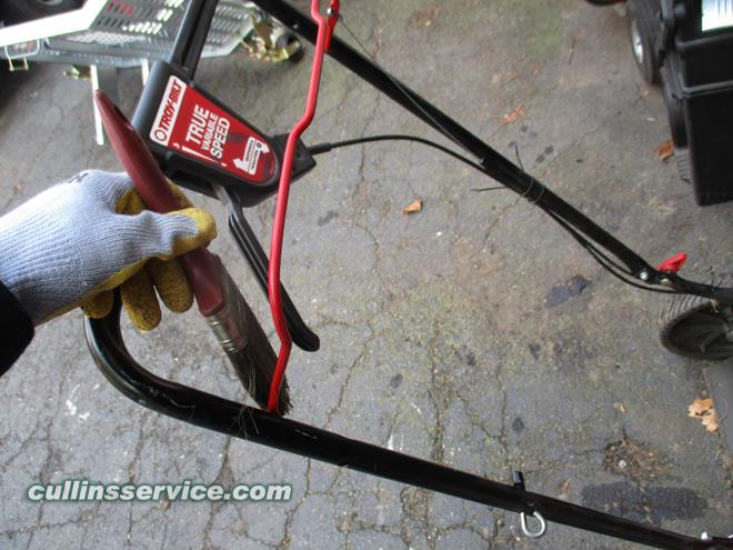 Winterize / Store Lawn Mower Lubricate Lawn Mower Cullins Service
