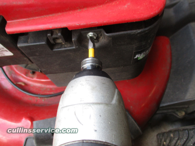 Winterize / Store Lawn Mower Remove air filter outer housing Cullins Service