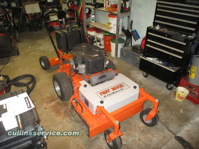 Winterize / Store Walk Behind Lawn Mower Remove Gas Cullins Service