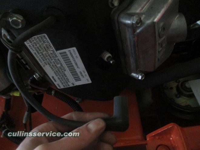 Winterize / Store Lawn Mower Remove Spark Plug Cap Cullins Service