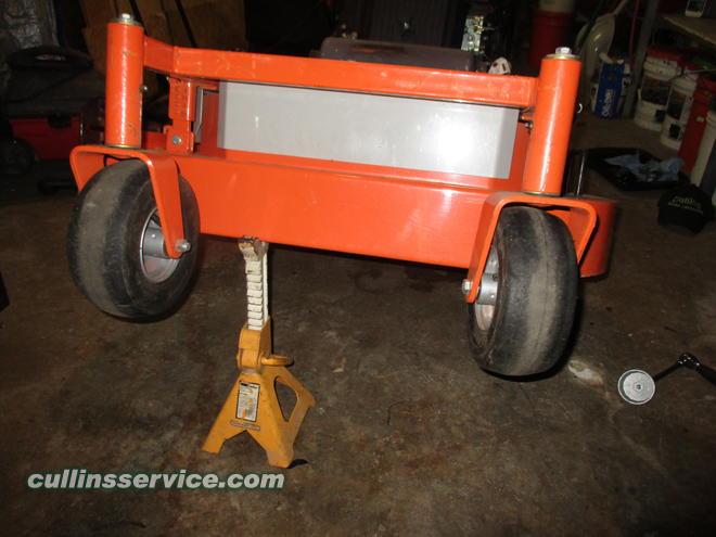 Winterize / Store Lawn Mower Lift the Deck Cullins Service