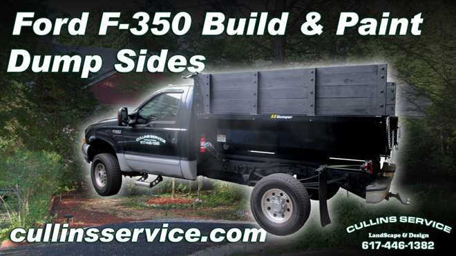 How to DIY Build and Paint EZ-Dumper Walls on Ford F350 Super Dutya Cullins Service
