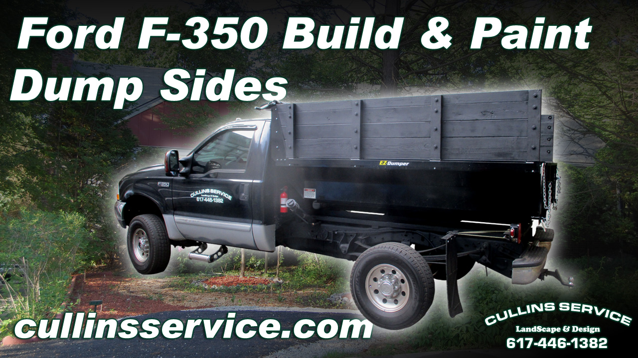 How To Diy Build And Paint Ez Dumper Walls On Ford F350 Super Duty