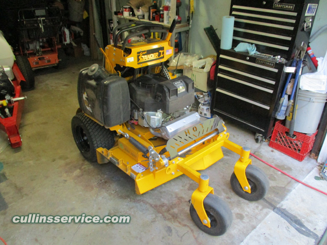 How to diy change the oil on a wright stander by cullins service how to diy change oil on wright mower what saw do you have cullins service solutioingenieria Image collections