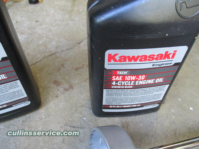 How to DIY Change oil on wright mower Get Correct Oil Cullins Service