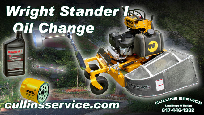 DIY How to Change The Oil On A Wright Stander Cullins Service