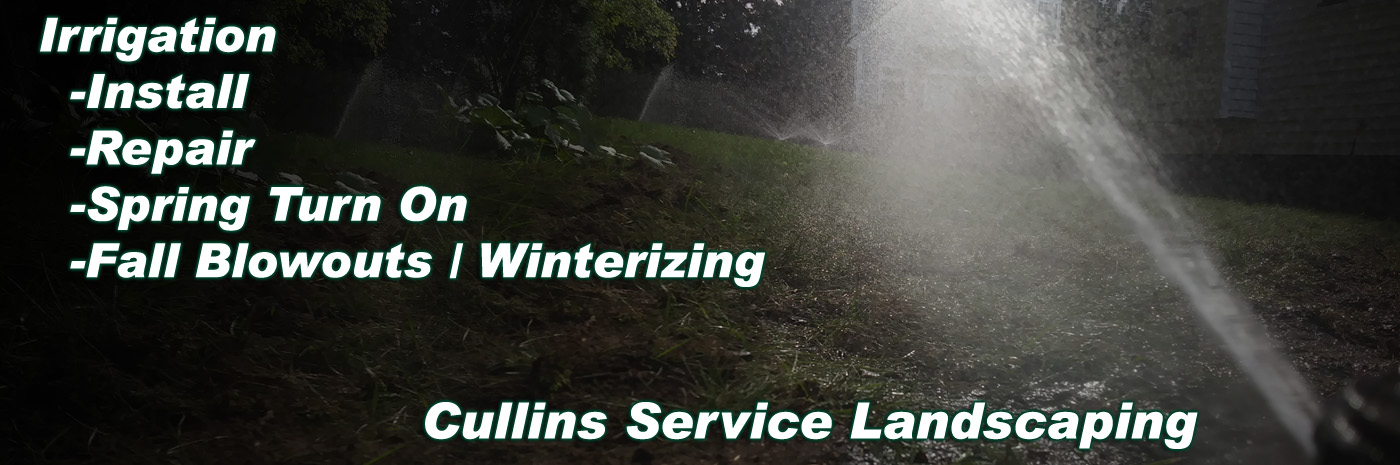 Cullins Service Would Love To install maintain your Irrigation