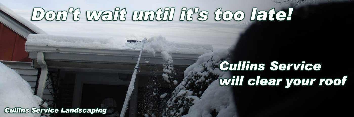 Cullins Service Roof Snow Cleanup