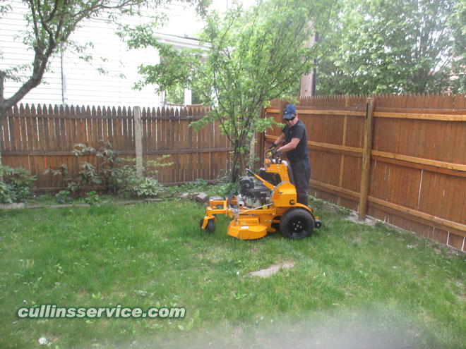 Wright Stander I can maneuver into the backyard