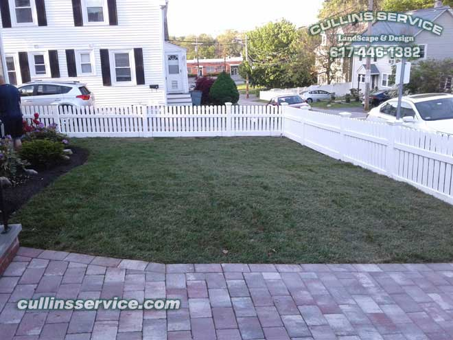 Cullins Service has finished this Landscape curb appeal sodding adventure.
